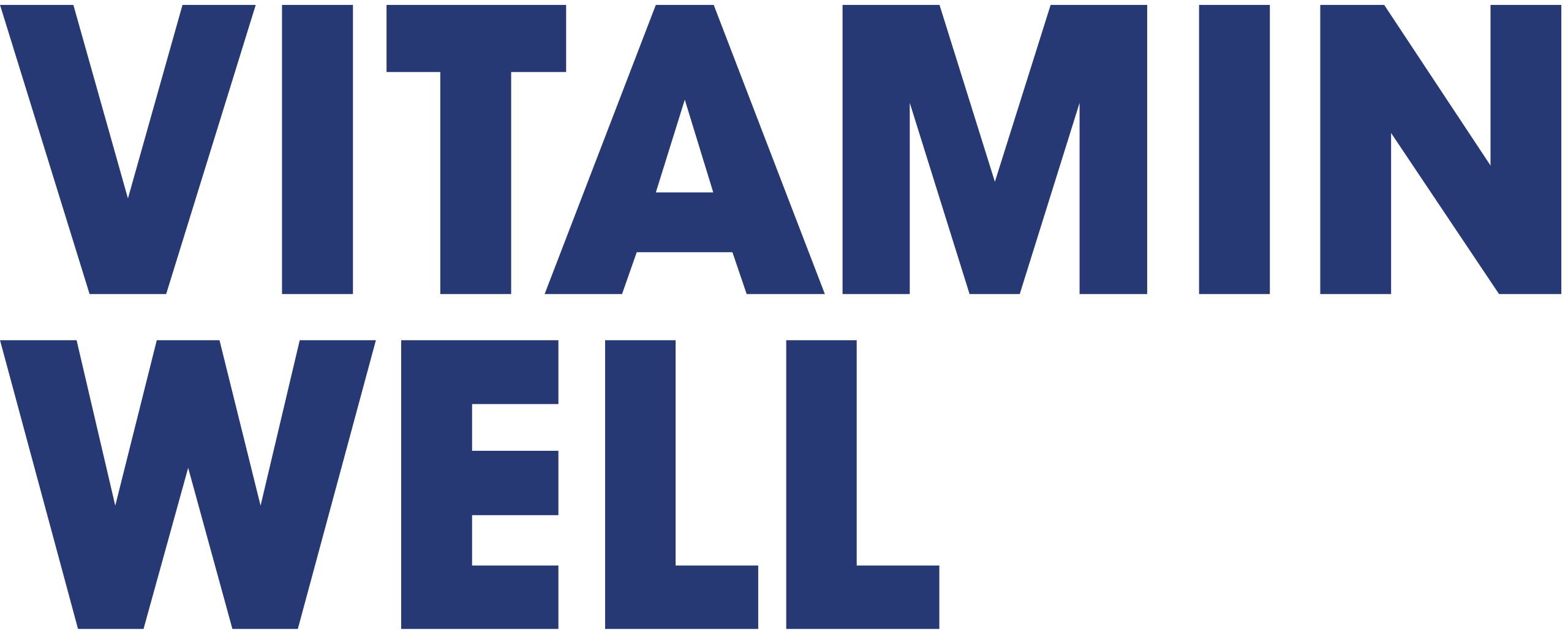 Vitamin Well logo til Harbour Run